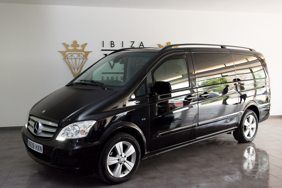 rent a mercedes viano v6 in ibiza 130 day ibiza vip experience. Black Bedroom Furniture Sets. Home Design Ideas