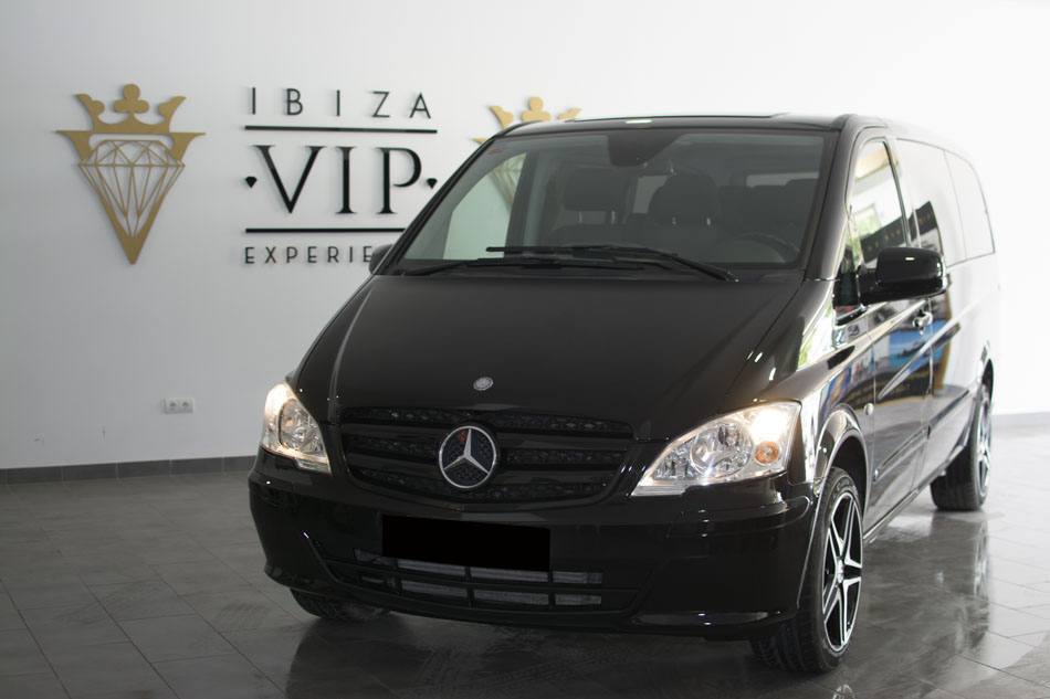 rent a mercedes vito in ibiza