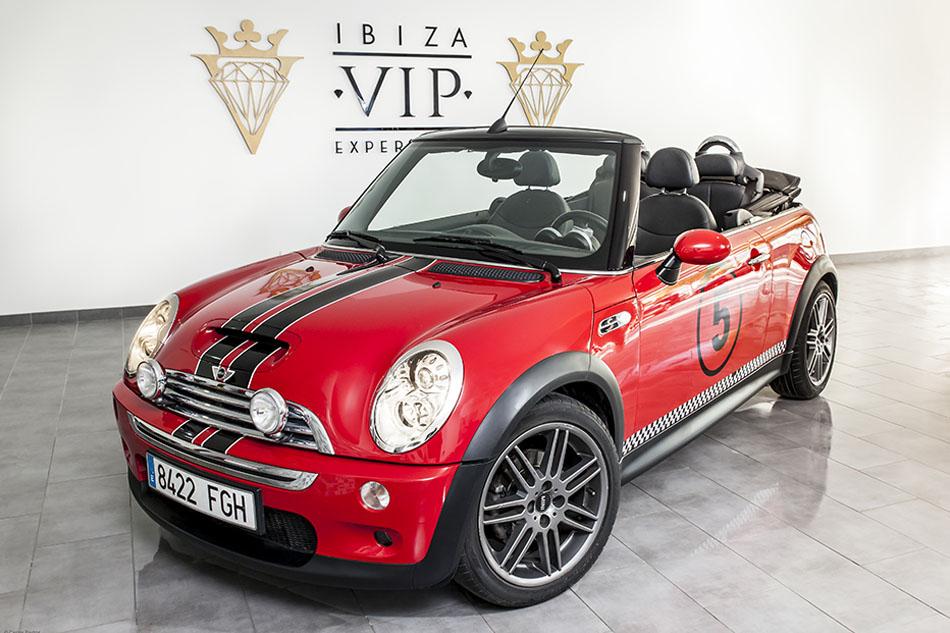 Mini Cooper S Rojo Ibiza - Ibiza VIP Experience