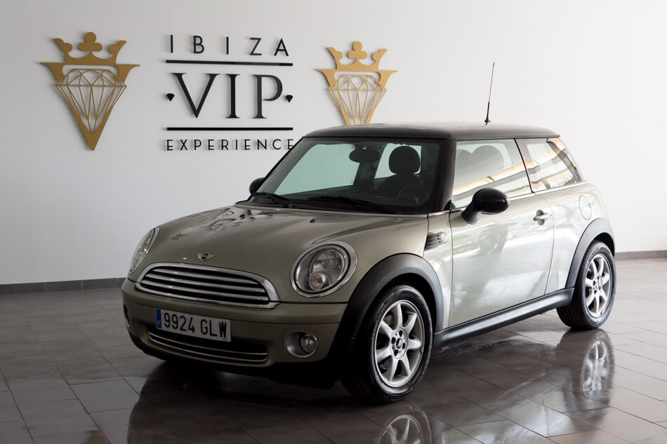 rent a minicooper gold in ibiza