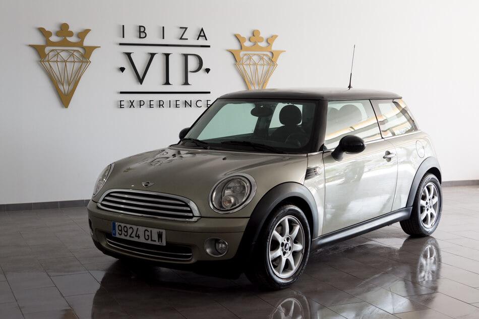 Mini Cooper Gold Ibiza